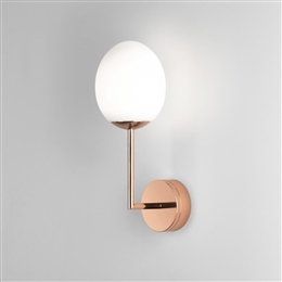 Astro 8008 Kiwi LED Bathroom Wall light with Opal Glass Shade