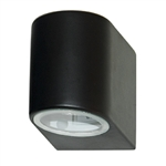 Searchlight 8008-1BK-LED Exterior Downlighter Wall Light