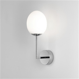 Astro 8010 Kiwi LED Bathroom Wall light with Opal Glass Shade
