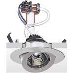 Guzzini 8068-04 Black 12volt Rotational Recessed  Downlighter.CU0063