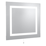 Searchlight 8510 Illuminated 4 Light Switched Glass Mirror