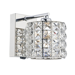 Dar Lighting AGN0750 Agneta Switched Wall Light