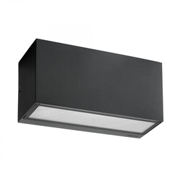 Elstead Norlys ASKER UD E27 GRA Asker Exterior Wall Light in Graphite finish