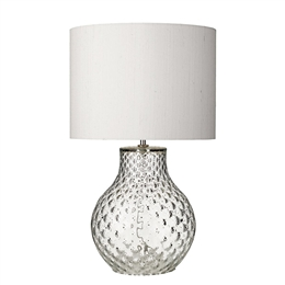 David Hunt Lighting AZO4108 Azores Clear Glass Table Lamp