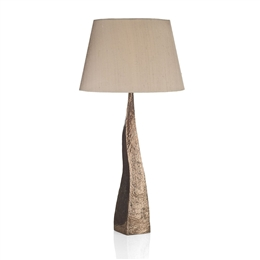 David Hunt Lighting AZT4364 Aztec Table Lamp in Hammered Copper Finish