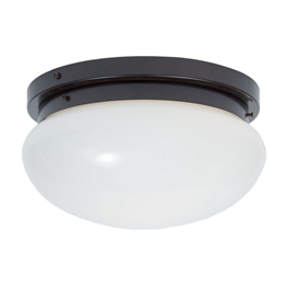 Kansa BOWL6394 Flush Ceiling light in Antique finish.