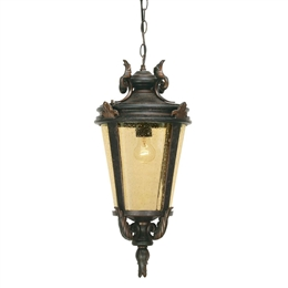 Elstead BT8/L Large Baltimore Single Outdoor Chain Lantern