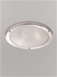 Franklite CF5753 Bathroom Ceiling Light with Frosted Glass
