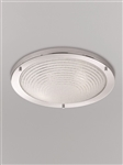 Franklite CF5755 Bathroom Ceiling Light with Frosted Glass