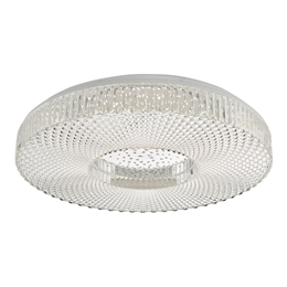Dar Lighting CIM4808 Cimona Large LED Flush Ceiling Light