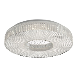 Dar Lighting CIM5008 Cimona Small LED Flush Ceiling Light