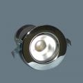 R50 Chrome Recessed Spot Light.Double Insulated.