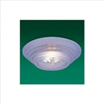 Firstlight - Blue Glass Downlight - LV1030- LV1030BL 17324.