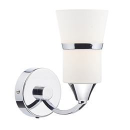 Dar DUB0750/LED Dublin 1 light Polished Chrome Wall Light