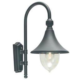 Elstead F2 Firenze Black Wall Lantern.