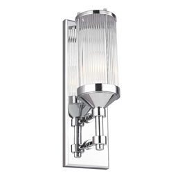 Elstead FE/PAULSON1 1 Light Wall Light in Polished Chrome finish