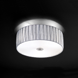 Franklite FL2283/3 Lucera 3 Light Flush Ceiling Fitting
