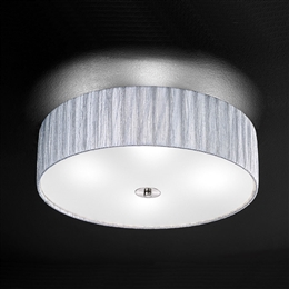 Franklite FL2283/4 Lucera 4 Light Flush Ceiling Fitting