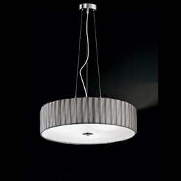 Franklite FL2284/4 Lucera 4 Light Satin Nickel Finish Pendant