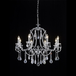 Franklite FL2330/8 Cinzia 8 Light Crystal Chandelier