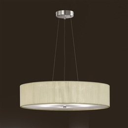 Franklite FL2342/5 Desire 5 Light Satin Nickel Finish Pendant