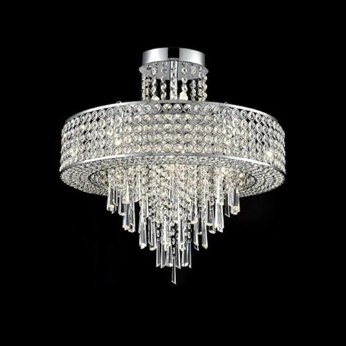 Franklite Fl2382 12 Duchess 12 Light Pendant Fitting: Franklite FL2381/12 Duchess 12 Light Crystal Fitting