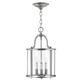 Elstead HK/GENTRY/P/M PW Gentry 4 Light Pendant in Pewter Finish