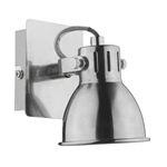 Dar Lighting IDA0746 Natural Chrome Single Spotlight .