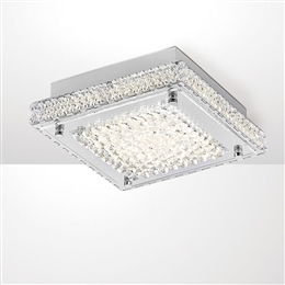 Diyas IL80070 Amelia Crystal LED Ceiling Fitting.