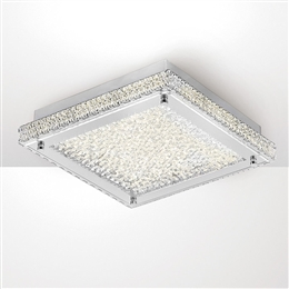 Diyas IL80071 Amelia LED Crystal Ceiling Fitting.