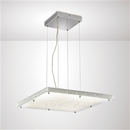 Diyas IL80072 Amelia LED Crystal Ceiling Fitting.