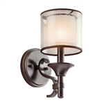 Elstead Lighting Kichler KL/LACEY1 MB Lacey Single Wall Light
