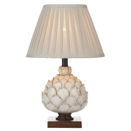 Dar LAY4133/X Layer Cream Table Lamp