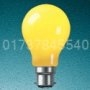 YELLOW 60 Watt 240v  BC B22   GLS  Lamp