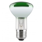 R64 Green 60Watt ES SpotLight Bulb 240v E27 Lamp