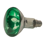 R95 Green 100Watt BC SpotLight Bulb 240v B22 Lamp