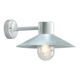 Elstead Norlys LUND GAL C Lund Exterior Wall Light