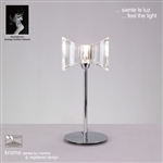 Mantra M0894 Kromo polished chrome table lamp
