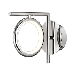 Mantra M6595 Olimpia 8w LED Wall Light in Chrome finish