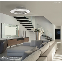 Mantra M6706 Alisio Grey LED Ceiling Fan with Remote Control