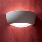 Dar Lighting MIL372 Ceramic & Glass Wall Light