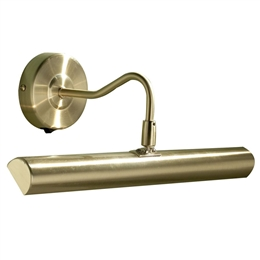 Dar Lighting ONE6741 Onedin 2 Light Picture Light in Satin Brass finish