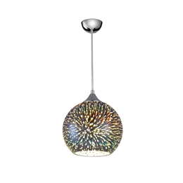 Hull Lighting PCH125 Vision 3D Effect Glass Sphere Pendant