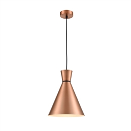 Hull Lighting PCH216 Happy Metal Pendant in Satin Copper finish