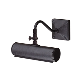 Elstead PL1/10 BLK Iron Small Picture Light - Black