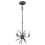Elstead Lighting QZ/CARNEGIE3 Uptown Carnegie 3 Light Ceiling Pendant