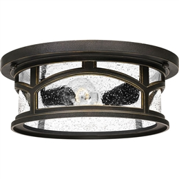 Elstead QZ/MARBLEHEAD/F 2 Light Flush Mount Fitting