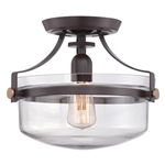 Elstead Lighting Quoizel QZ/PENNSTAT/F WT Penn Station Semi-Flush fitting