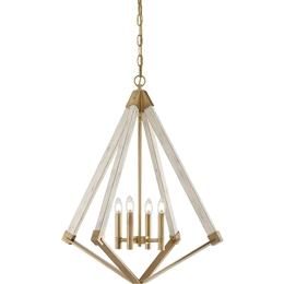 Elstead QZ/VIEWPOINT/L View Point Large 4 Light Chandelier