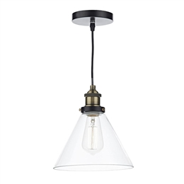 Dar Lighting RAY0175 Ray Single Ceiling Pendant
